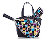 Court Couture Cassanova Multi Black Tennis Bag