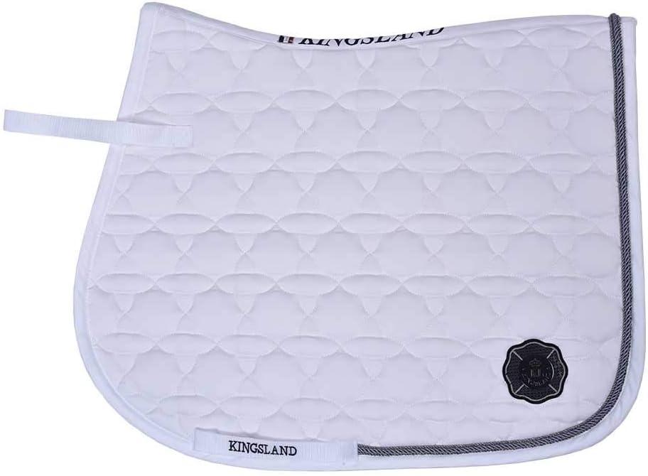Kingsland Schabracke KLkenai Sattelunterlage mit Seidenkordel Form Dressur