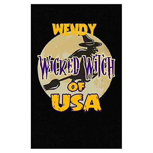 Wendy The Witch Costume (Halloween Costume Wendy Wicked Witch Of Usa Great Personalized Gift - Poster)