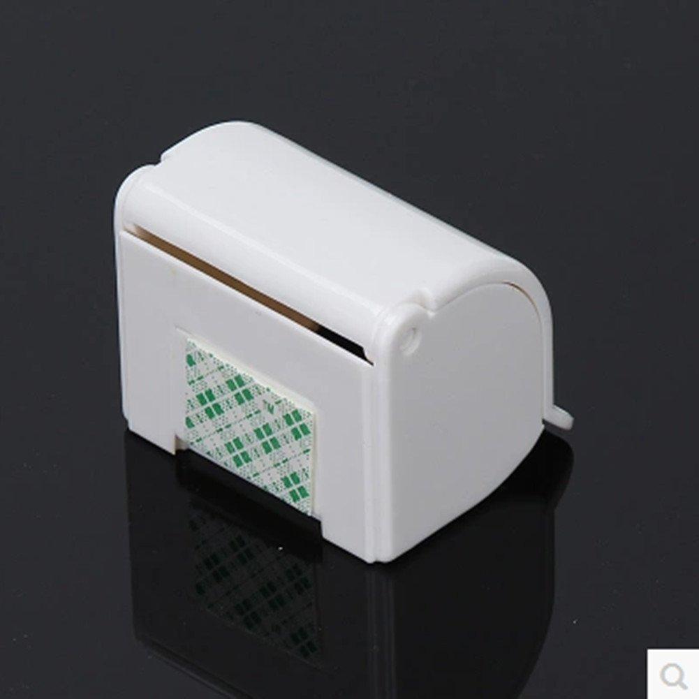 MXY Razor Holder Self Adhesive Creative Design Shaver Hanging Plastic Hook White
