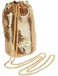 Women's Chain Mail Bucket Bag