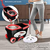 Tsmine Spin Mop & Bucket Floor Cleaning