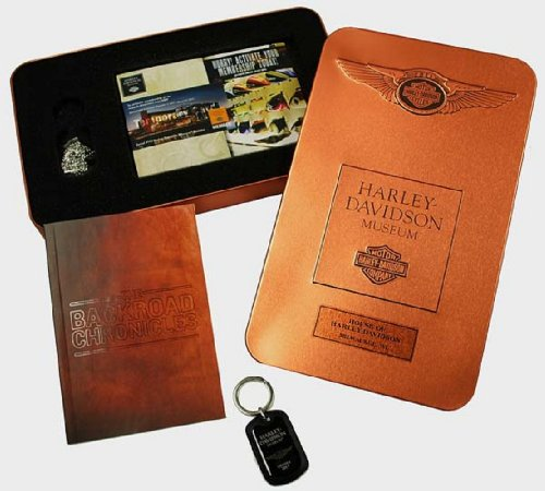 - Harley-Davidson® 110th Anniversary Museum Membership. LIMITED EDITION. Collectible Tin with Harley-Davidson Museum Membership and Benefits. Holiday 12
