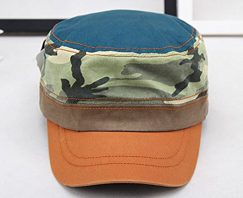 Soleil Baseball Orange Chapeau Camouflage Unisexe Couleur Casquette Militaire Acvip 6xUa1nwU