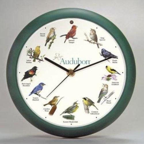 Audubon Singing Bird Clock 8