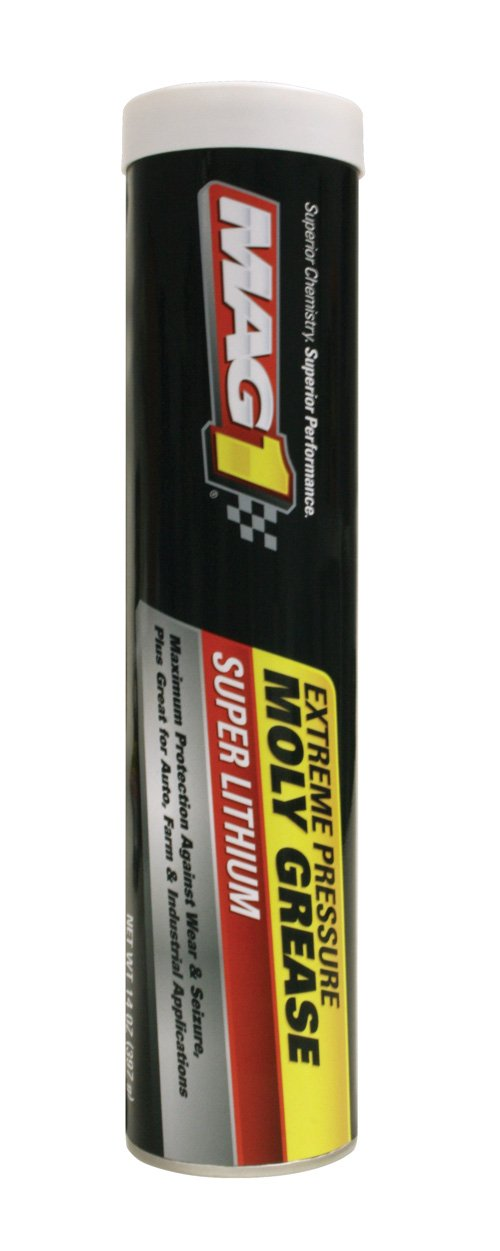 Mag 1 733 Grey EP Moly Lithium Grease - 14 oz., (Pack of 10) by Mag 1