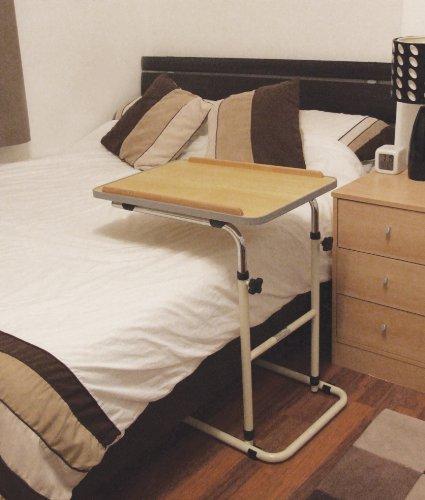 AIDAPT Table De Lit Mobile à Roulettes Amazonfr Cuisine Maison - Table de lit design
