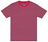 Tommy Hilfiger Boys' Stripe Short Sleeve Tee Shirt