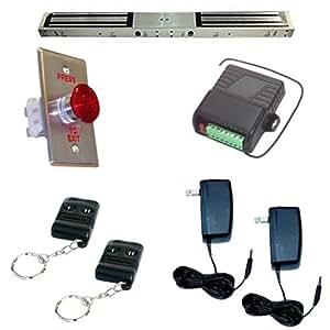 Amazon Com Electric Magnetic Door Lock Dual 1200lb With