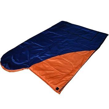 QINSON Saco de Dormir Tipo sobre, Resorte for Acampar al Aire ...