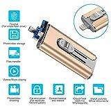 TDEBSSY USB 3.0 Flash Drive 128GB for iPhone iPad