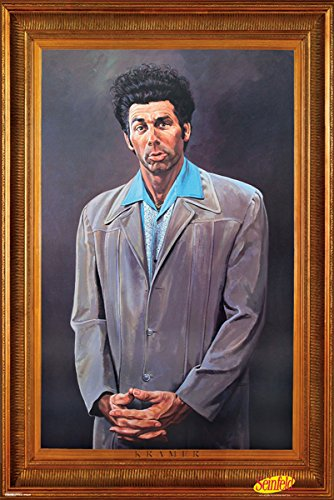 Seinfeld - Kramer 24x36 Poster | NEW COMEDY TRAILERS | ComedyTrailers.com