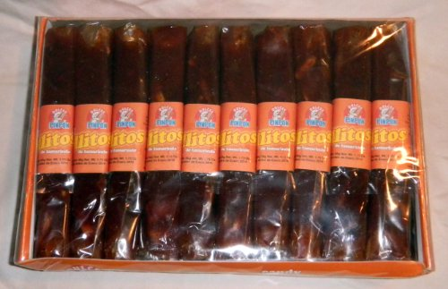 Tamarind Rolls Mexican Candy - Rollos De Tamarindo 20 Pieces Sealed by Pin Pon