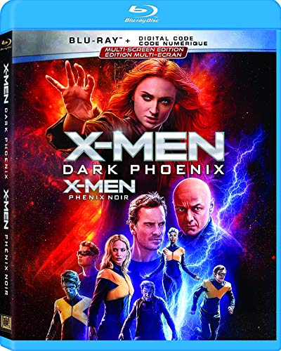 X-Men Dark Phoenix (Bilingual) [Blu-ray + Digital Copy]
