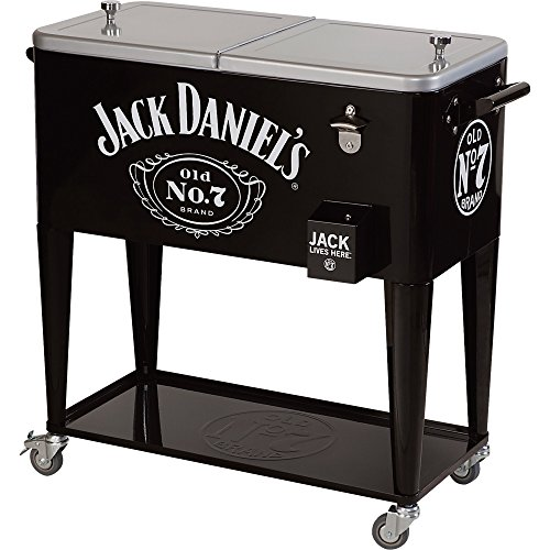 Jack Daniel's 80-Qt. Rolling Party Ice Cooler (Jack Daniels Backpack)