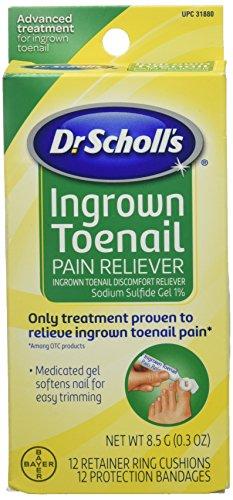 - Dr.Scholls Ingrown Toenail Pain Reliever Gel - 0.3 Oz