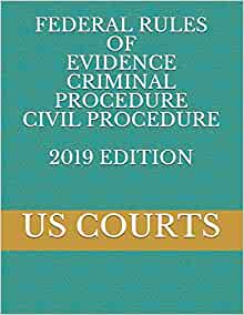Federal Rules of Civil Procedure, Educational Edition, 2019