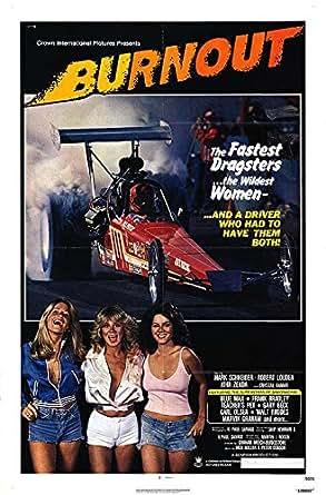 Burnout Authentic Original 27 X 41 Folded Movie Poster