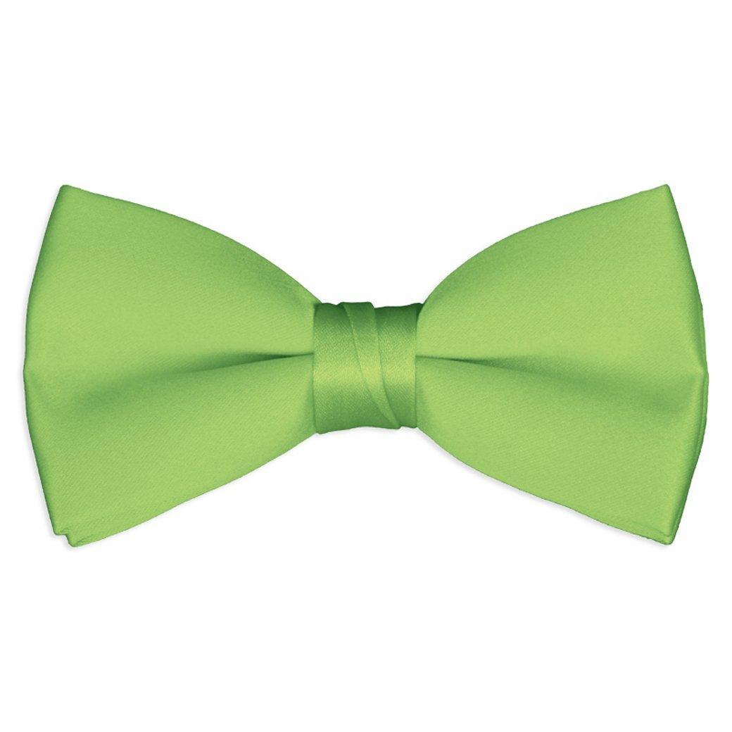 Bowties Boys Solid Color Satin Bow Ties