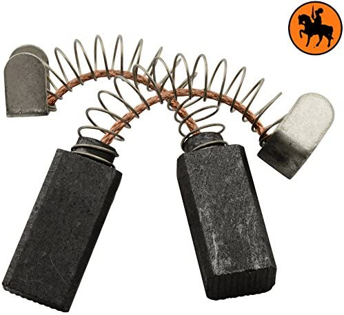 6x8x16,5mm 2.4x3.1x6.3 Balais de Charbon pour BLACK /& DECKER P3703L