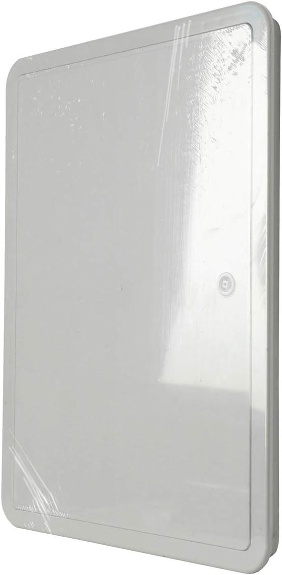 La ventilaci/ón si3040g-y Puerta de inspecci/ón de ABS 320/x 420/mm Gris