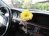 AutoVase Car Vase (Yellow Daisy)