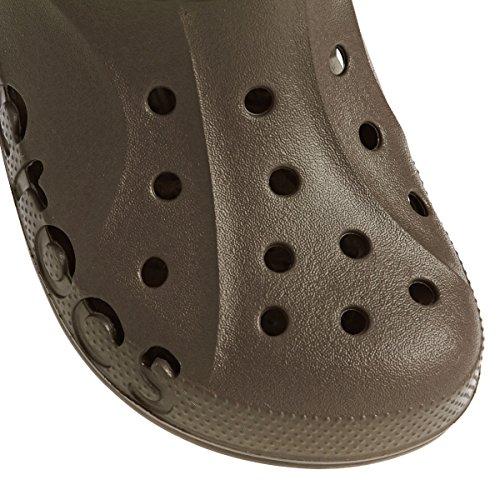 6 4 Womens Medium Chocolate Unisex Mule Clog Unisex Baya Crocs Mens xnpzw01qff