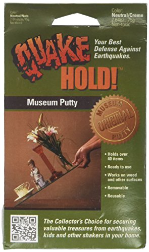 Museum Putty (Quake Hold 88111 2.64 Oz Quake Hold™ Museum Putty)