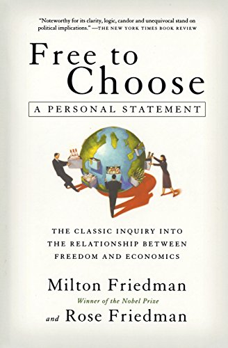 Pdf Politics Free to Choose: A Personal Statement
