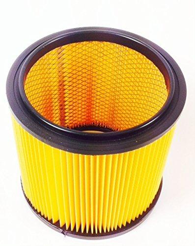 Grizzly Parkside Lidl filtro seco de pliegues con rejilla interior de acero para aspirador en seco y húmedo PNTS 23 E 1250 1300 A1 B2 C3 1400 A1 B1 C1 D1 ...