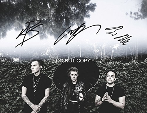 PVRIS rock band reprint signed band photo #2 Lyndsey Gunnulfsen RP from Loa_Autographs