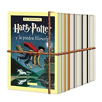La colección completa de libros electrónicos de Harry