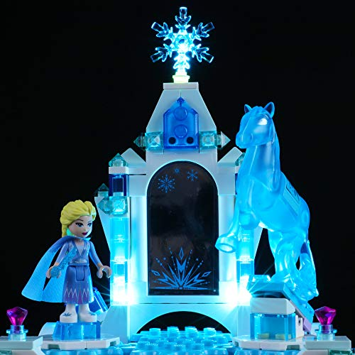 BRIKSMAX Led Lighting Kit for Elsa's Jewelry Box Creation - Compatible with Lego 41168 Building Blocks Model- Not Include The Lego Set