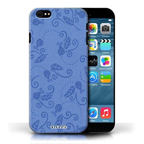 Etui / Coque pour Apple iPhone 6/6S / Bleu conception / Collection de Motif Coccinelle