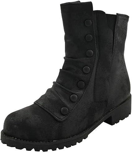 Muchy Women Retro 90s Mid Calf Boots