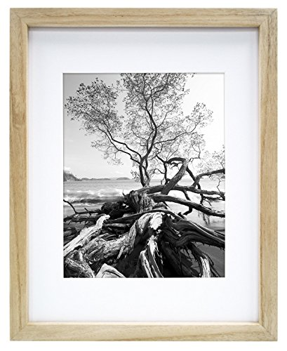 MCS 9x12 Inch Art Frame with 6x8 Inch Mat Opening, Natural (65649)