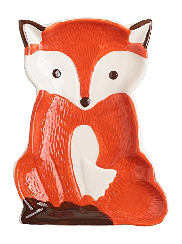 Red Fox Ceramic Spoon Rest