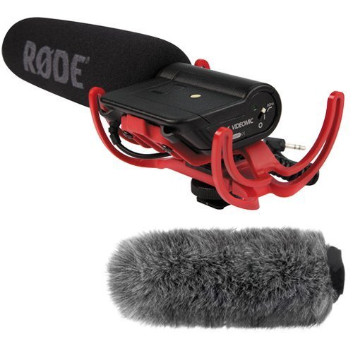 Rode VideoMic with Fuzzy Windjammer Kit by Rode