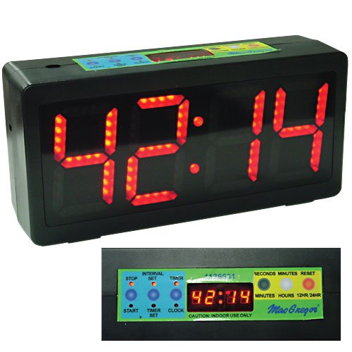 MacGregor Count Up/Down Clock (Game Clocks Scoreboards)