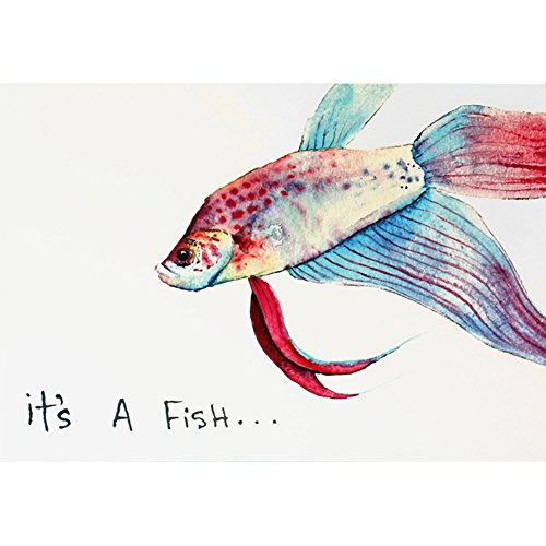 Fish  Fish Ally Your Birthday Greeting Card