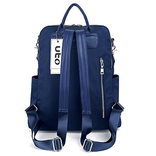 Backpack Uto Strap Waterproof Women Backpack Strap Backpack Oxford Blue Women Shoulder Red Nylon Nylon 5r5zqFw
