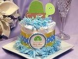 SEA TURTLE OCEAN CREATURES Baby Shower Mini Diaper Cakes Centerpiece