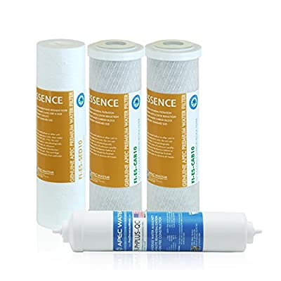 APEC Water Systems FILTER-SET-ESPH Stage 1, 2, 3 and 6 Replacement Filter for Under sink Alkaline System