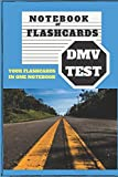 NOTEBOOK OF FLASHCARDS- DMV TEST: YOUR FLASHCARDS