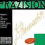 Thomastik-Infeld 808 Precision, Cello Strings, Complete Set, 808, 3/4 Size, Steel Core