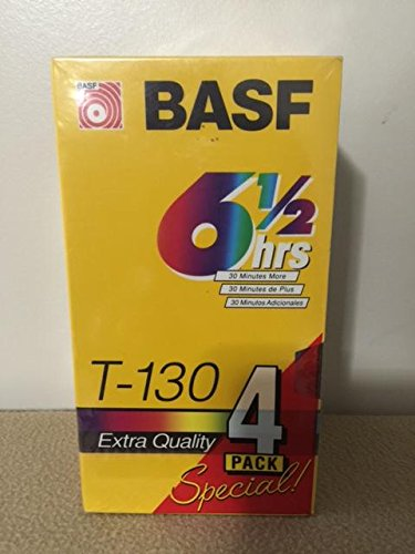 basf-t-130-6-1-2-hour-extra-quality-blank-vhs-tape-video-cassette-recording-tape-4-pack