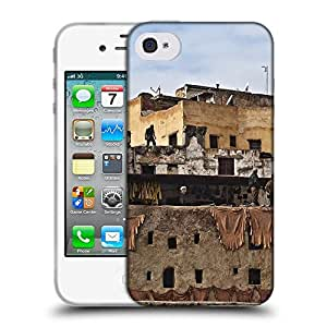 Super Galaxy Coque de Protection TPU Silicone Case pour // F00002274 curtidores de bronceado Tanner // Apple iPhone 4 4S 4G