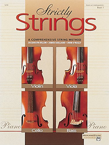 Strictly Strings: Piano Accompaniment, Book 1