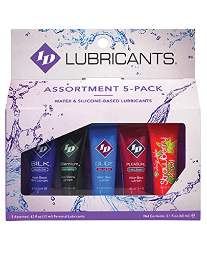 Id Glide Lube Lubricant Water - ID Sampler 12ml Tubes 5 Pack