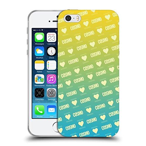 Official Cosmopolitan Ombre Love Logo Soft Gel Case for Apple iPhone 5 / 5s / SE